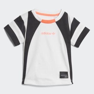 Camiseta EQT WHITE/BLACK/TURBO D98795