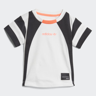 Polera EQT WHITE/BLACK/TURBO D98795