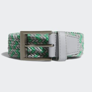 Braided Stretch Belt Hi-Res Green / Grey CY9102