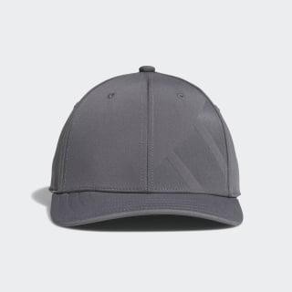 A-Stretch Bold Stripe Cap Grey Four CY9736
