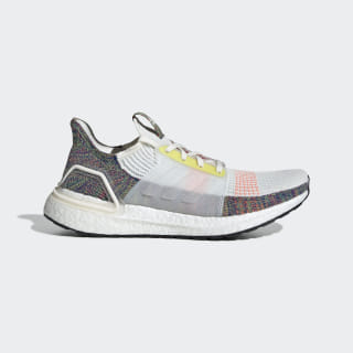 Ultraboost 19 Pride Shoes Running White / Scarlet / Bright Yellow EF3675