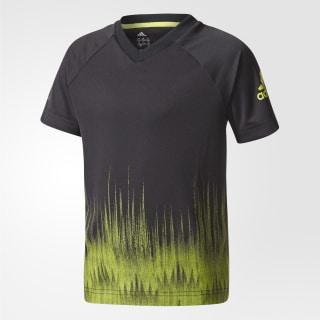 Camiseta Training BLACK/SEMI SOLAR YELLOW CF1285