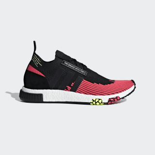 Zapatilla NMD_Racer Primeknit Core Black / Core Black / Shock Red BD7728