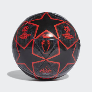 Bola UCL Finale Madrid Capitano Black / Night Grey / Active Red DN8679