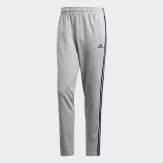 Pantalón Essentials 3 Tiras Medium Grey Heather / Collegiate Navy BK7415