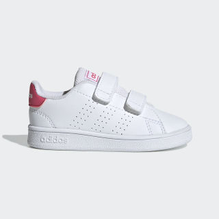 Advantage Shoes Cloud White / Real Pink / Cloud White EF0300