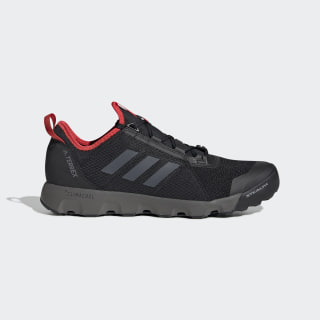 Zapatilla Terrex Voyager Speed S.RDY Water Core Black / Grey Four / Active Red EG3486