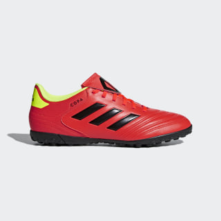 Chimpunes Copa Tango 18.4 Césped Artificial SOLAR RED/CORE BLACK/SOLAR YELLOW DB2453