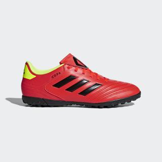 Zapatos de Fútbol Copa Tango 18.4 Césped Artificial SOLAR RED/CORE BLACK/SOLAR YELLOW DB2453