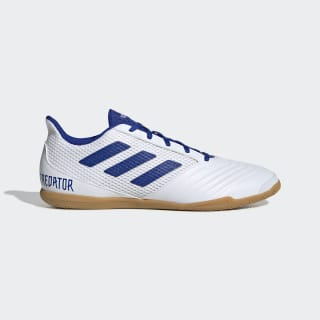 Chuteira de Futsal Predator 19.4 Cloud White / Bold Blue / Cloud White D97974