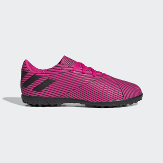 Zapatos de Fútbol Nemeziz 19.4 Césped Artificial Shock Pink / Core Black / Shock Pink F99936