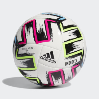 Uniforia Club Ball White / Black / Signal Green / Bright Cyan FH7356