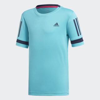 3-Stripes Club Tee Hi-Res Aqua DH2777
