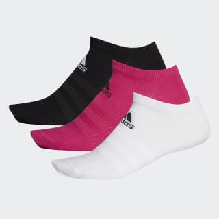 Socquettes (3 paires) Real Magenta / Black / White DZ9403