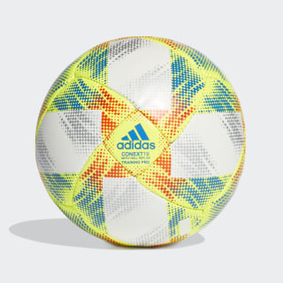 Conext 19 Training Pro Ball White / Solar Yellow / Solar Red / Football Blue DN8635