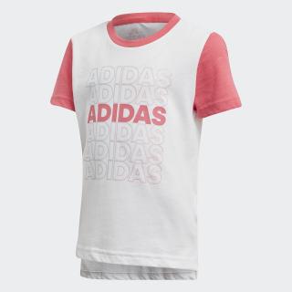 เสื้อยืด White / Real Pink / Real Pink EH4082