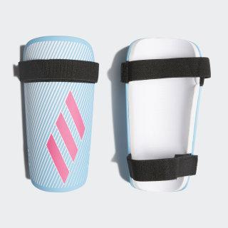 X Lite Shin Guards Bright Cyan / Shock Pink / White DY2575