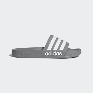 Adilette Cloudfoam Slides Grey Three / Cloud White / Grey Three B42212
