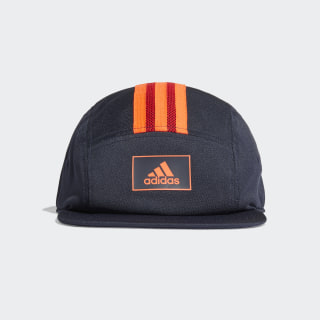 Five-Panel adidas Athletics Club Kappe Legend Ink / Solar Red / Solar Red FK0868