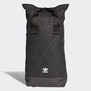 3D Roll Top Rucksack Black DH0100