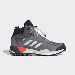 TERREX Skychaser XT Mid GORE-TEX Wanderschuh Grey Three / Dash Grey / Solar Red EG2867