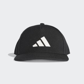 Kšiltovka The Packcap Black / Black / White DT8576