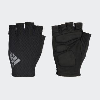 hand.schuh Race Glove Black/White/Reflective Silver AZ6584