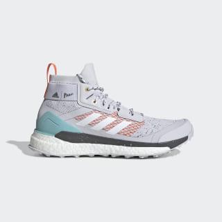 Terrex Free Hiker Parley Hiking Shoes Dash Grey / Cloud White / True Orange EG5397