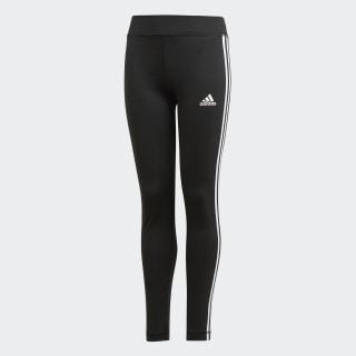 Calça Legging Tr Eq3 Stripesl Yg black/white DV2755