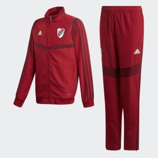 Conjunto de Presentación River Plate Collegiate Burgundy DX6200