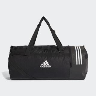 Convertible 3-Streifen Duffelbag L Black/White/White CG1534