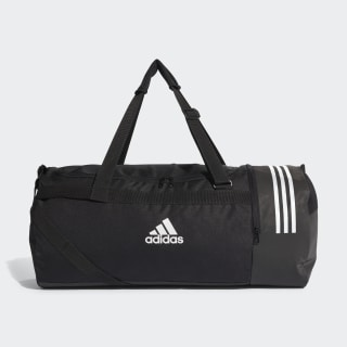 Convertible 3-Stripes Duffel Bag Large Black / White / White CG1534