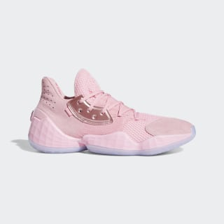 Tênis Harden Vol. 4 Light Pink / Glow Blue / Gold Metallic F97188