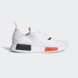 Sapatos NMD_R1 Cloud White / Solar Red / Core Black EH0045