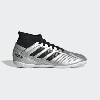 Chuteira Predator Tango 19.3 Futsal Silver Metallic / Core Black / Hi-Res Red G25806