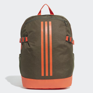 3-Stripes Power Backpack Medium Night Cargo / Active Orange / Active Orange DZ9430