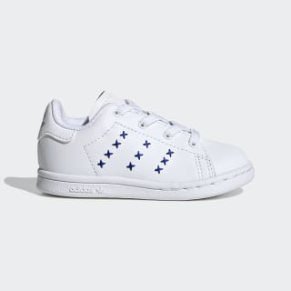 Stan Smith Schuh Cloud White / Cloud White / Team Royal Blue EG6499