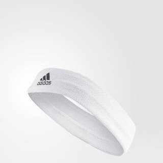 Tennis Headband White / White / Black S97911