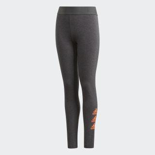 Must Haves Badge of Sport Leggings Dark Grey Heather / Signal Coral FP8932