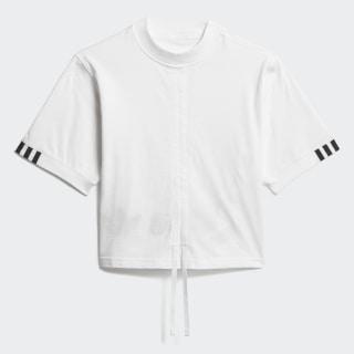 T-SHIRT (SHORT SLEEVE) LINEAR LOGO TEE White DZ0094