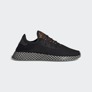 Deerupt Runner Shoes Core Black / Sesame / Solar Red EE5674