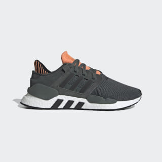 EQT Support 91/18 Shoes Legend Ivy / Core Black / Easy Orange CM8407