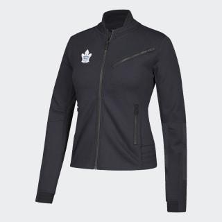 Maple Leafs Moto Jacket Nhl-Tml-5at / Black DP8032