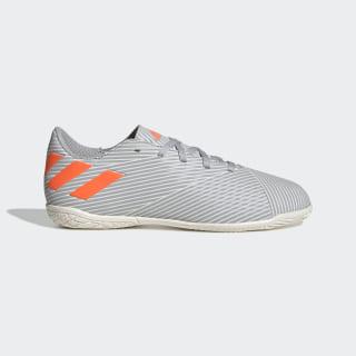 Chuteira Nemeziz 19.4 Futsal Grey Two / Solar Orange / Chalk White EF8307