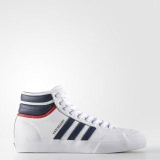 Zapatillas de skate Matchcourt High RX2 FTWR WHITE/COLLEGIATE NAVY/SCARLET BY4136