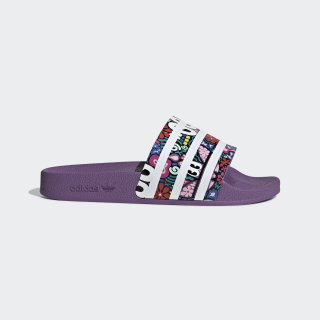 Adilette Slides Multi / Purple / Active Red CG6468