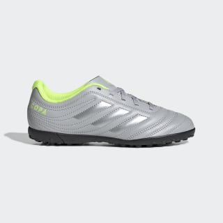 Calzado de Fútbol Copa 20.4 Pasto Artificial Grey Two / Matte Silver / Solar Yellow EF8359