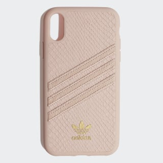 Snake Molded Case iPhone 6.1-Inch Clear Pink / Gold Metallic CL2354