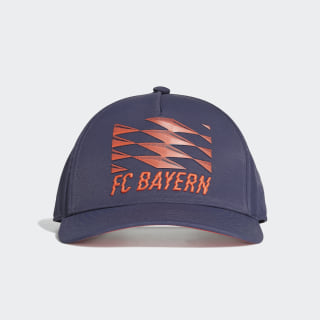 Gorra FC Bayern Trace Blue / Bright Red / White DY7678