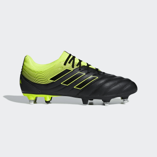 Copa 19.3 Soft Ground Boots Core Black / Solar Yellow / Core Black CG6920